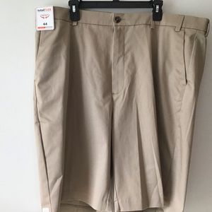 Shorts 44 Tan Total Flex Tall Man NWT R.& Yorke